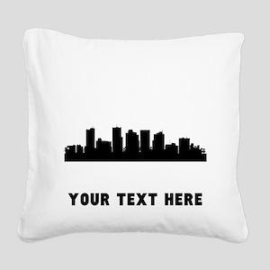 Phoenix Cityscape Skyline (Custom) Square Canvas P