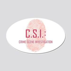 CSI Wall Decal