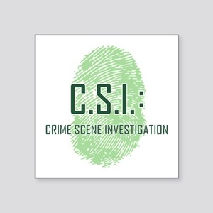 CSI Sticker