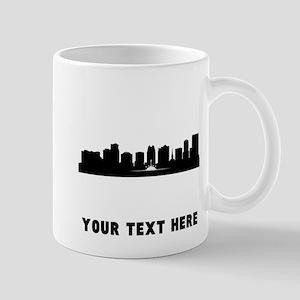 Orlando Cityscape Skyline (Custom) Mugs