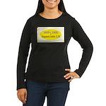 Black Cap Image 3 Women's Long Sleeve Dark T-Shirt
