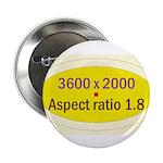 """Black Cap Image 3 2.25"""" Button (100 pack)"""