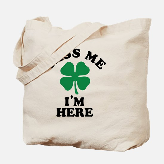 Unique Kiss me Tote Bag