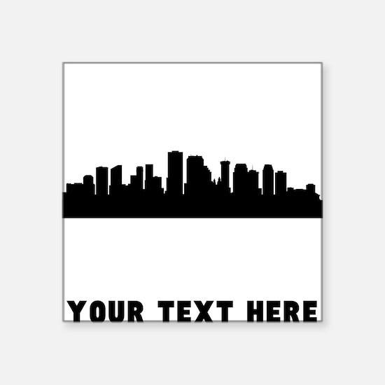 New Orleans Cityscape Skyline (Custom) Sticker