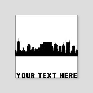 Nashville Cityscape Skyline (Custom) Sticker