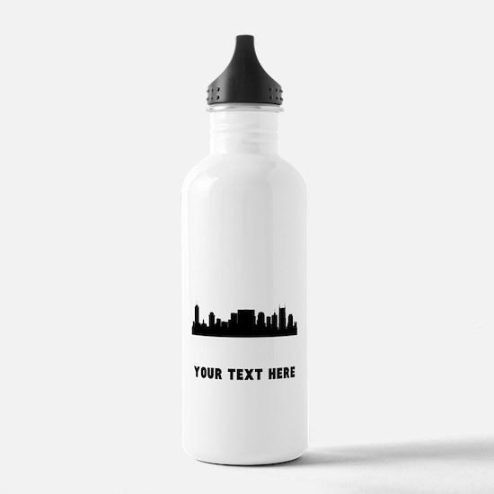 Nashville Cityscape Skyline (Custom) Water Bottle