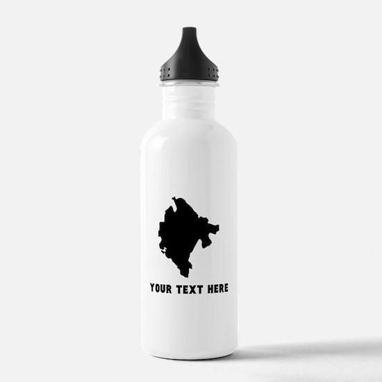 Montenegro Silhouette (Custom) Water Bottle