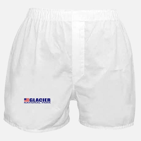 Glacier National Park Boxer Shorts