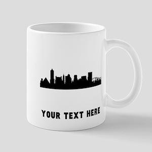 Memphis Cityscape Skyline (Custom) Mugs