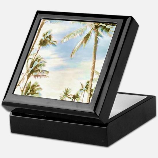 Funny Hawaiian Keepsake Box