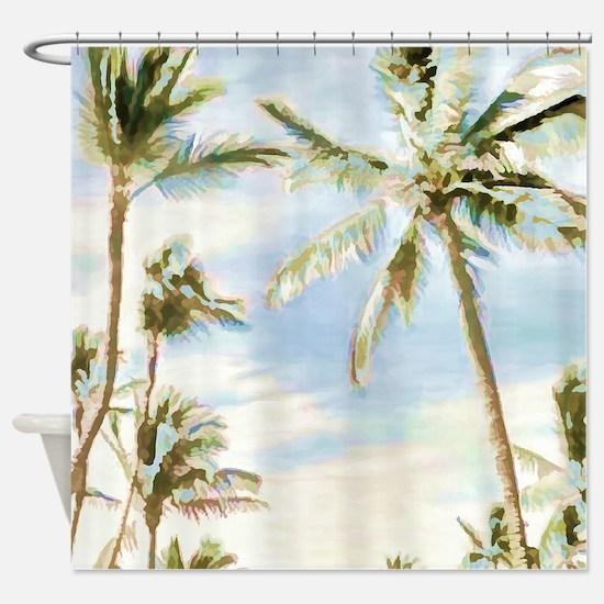 Unique Hawaii Shower Curtain