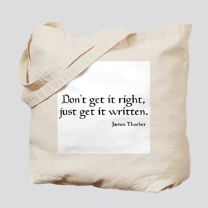 James Thurber Quote Tote Bag