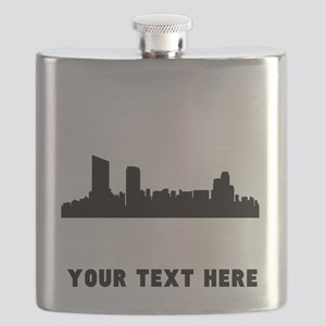 Grand Rapids Cityscape Skyline (Custom) Flask