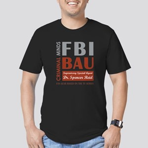 FBI BAU REID Men's Fitted T-Shirt (dark)