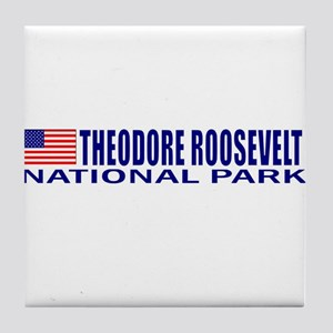 Theodore Roosevelt National P Tile Coaster