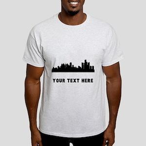 Detroit Cityscape Skyline (Custom) T-Shirt