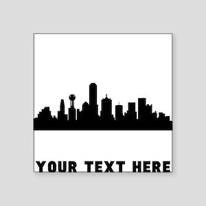 Dallas Cityscape Skyline (Custom) Sticker