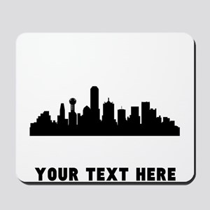 Dallas Cityscape Skyline (Custom) Mousepad