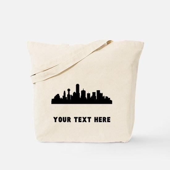 Dallas Cityscape Skyline (Custom) Tote Bag