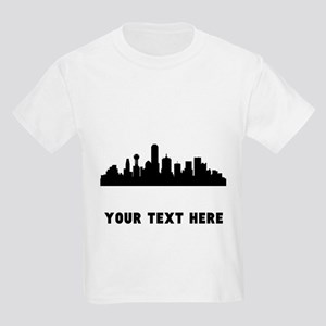 Dallas Cityscape Skyline (Custom) T-Shirt