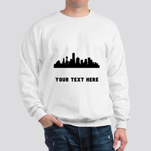 Dallas Cityscape Skyline (Custom) Sweatshirt