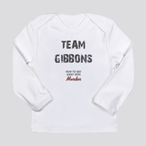TEAM GIBBONS Long Sleeve Infant T-Shirt