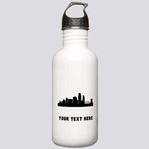 Corpus Christi Cityscape Skyline (Custom) Water Bo
