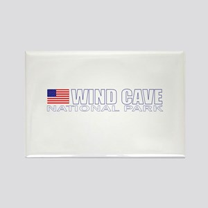 Wind Cave National Park Rectangle Magnet
