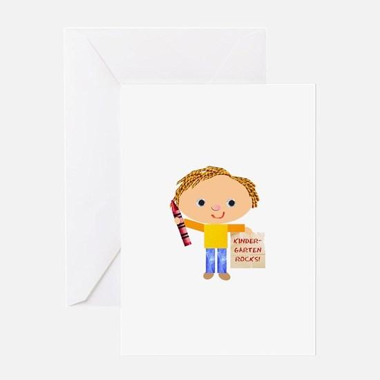 Kindergarten Greeting Card