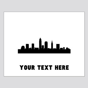 Cleveland Cityscape Skyline (Custom) Posters