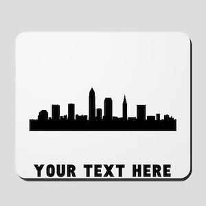 Cleveland Cityscape Skyline (Custom) Mousepad