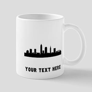 Cleveland Cityscape Skyline (Custom) Mugs