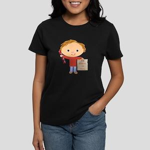 Preschool Teacher Women's Dark T-Shirt