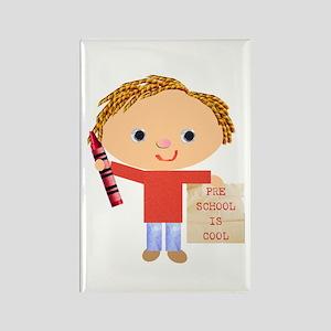 Preschool Rectangle Magnet