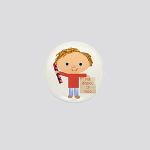 Preschool Mini Button