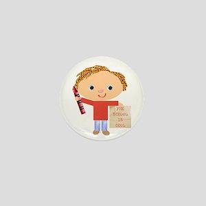 Preschool Mini Button