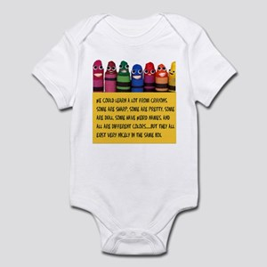 Peaceful Crayons Infant Bodysuit