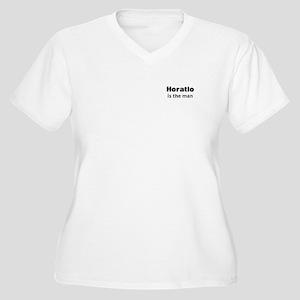 Horatio Women's Plus Size V-Neck T-Shirt