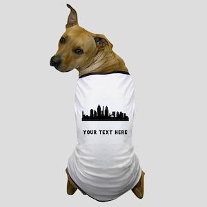 Cincinnati Cityscape Skyline (Custom) Dog T-Shirt