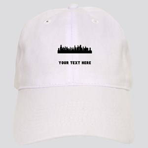 Chicago Cityscape Skyline (Custom) Baseball Cap