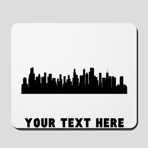 Chicago Cityscape Skyline (Custom) Mousepad