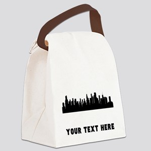 Chicago Cityscape Skyline (Custom) Canvas Lunch Ba