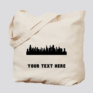 Chicago Cityscape Skyline (Custom) Tote Bag