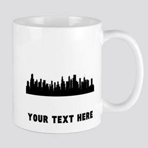 Chicago Cityscape Skyline (Custom) Mugs