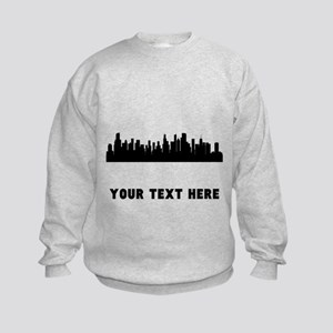 Chicago Cityscape Skyline (Custom) Sweatshirt