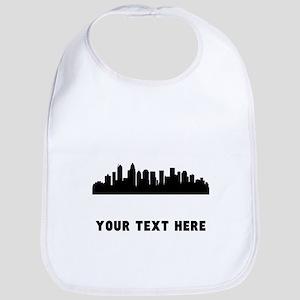 Charlotte Cityscape Skyline (Custom) Bib