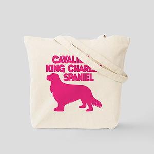 CAVALIER (both sides) Tote Bag
