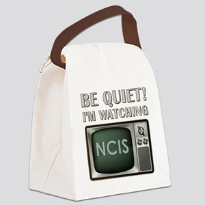 BE QUIET Canvas Lunch Bag