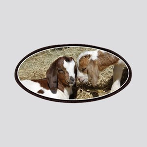 Cute Kid Goat Friends Patch