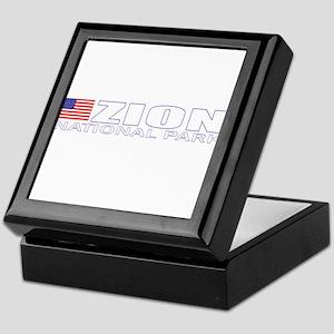 Zion National Park Keepsake Box